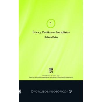 ETICA Y POLITICA EN LOS SOFISTAS #1 (VERSION IMPRESA)