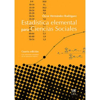 ESTADISTICA ELEMENTAL PARA CIENCIAS SOCIALES