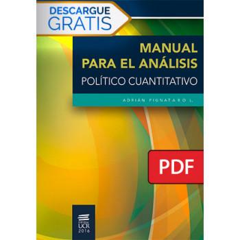 Manual for quantitative policy analysis
