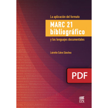 The application of the bibliographic Marc 21 format and the documentary languages (DIGITAL BOOK PDF)