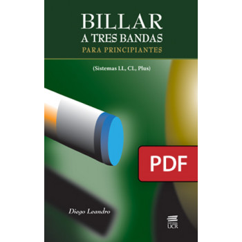 Billiards to three bands: (LL, CL, Plus systems) (PDF digital book)