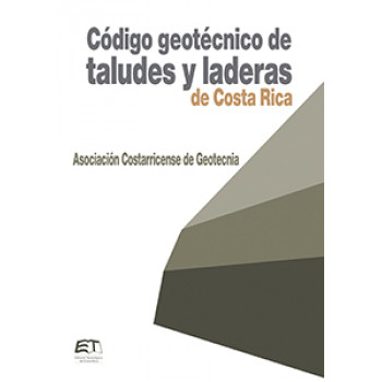 Geotechnical code of slopes and slopes of Costa Rica