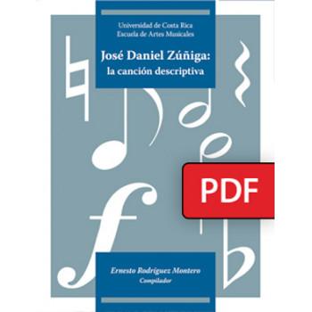 José Daniel Zúñiga: the descriptive song (DIGITAL BOOK PDF)