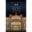 ICOMOS 2019 Calendar. Architecture of 1900 in Costa Rica. Building the threshold of a century