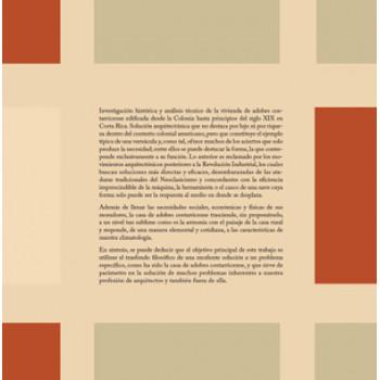 La casa de adobes costarricense (LIBRO DIGITAL EPUB)