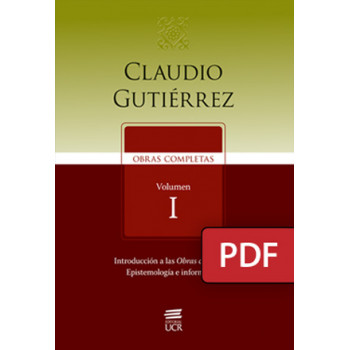 Claudio Gutiérrez. Complete works